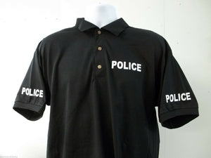 Police Polo Shirt with Free Shipping in USA, Choose your own Colors
