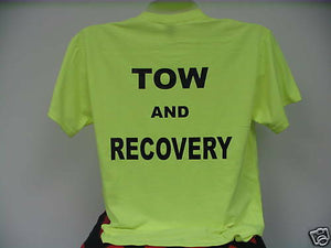 Tow & Recovery T-Shirt, Safety Green Tow & Recovery, MD