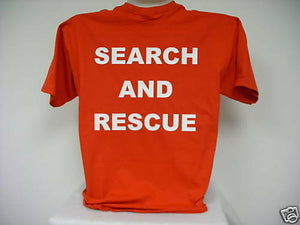 Search And Rescue Short Sleeve T-Shirt, SAR S/S T-Shirt......Size Large