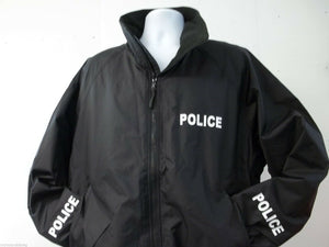 LAW ENFORCEMENT Light Weight NON-REFLECTIVE Jacket, Choice of Prints & Colors