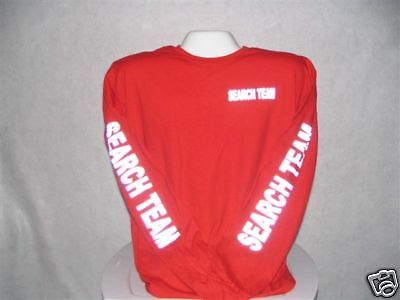 Search And Rescue T-Shirt, Reflective Search Team,   XL