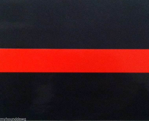 Firefighter EMS Red Line Decal, 4