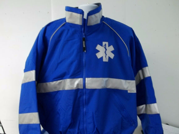 All Weather Custom Printed Reflective Star of Life Public Safety Jacket