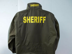 Sheriff Raid Jacket, Free Shipping