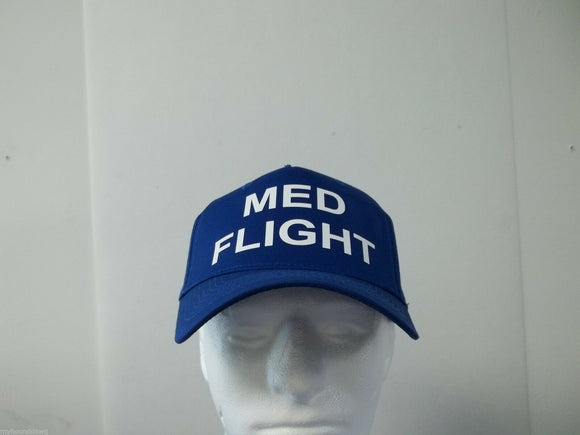 Med Flight Helicopter Crew 5-Panel Baseball Hat Cap Choose Your Choice of Colors