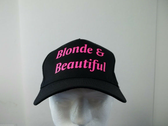 Blonde is Beautiful Baseball Hat