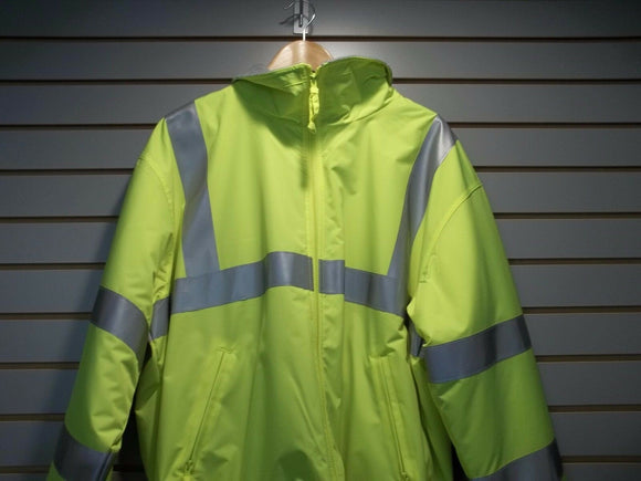 Heavyweight Safety Fleece Reflective Jacket