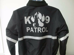 Custom Printed Reflective K-9 Patrol Jacket