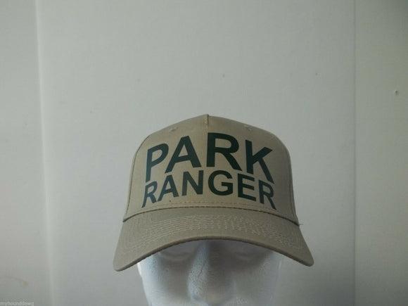 Park Ranger 5-Panel Hat, Choose Your Color and Print Color