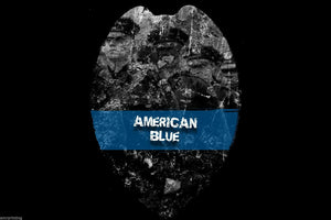 American Blue Sublimated Police Lives Department T-Shirt