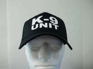 K-9 Unit Stack 5-Panel Hat, Choose Your Color and Print Color, Free Shipping USA