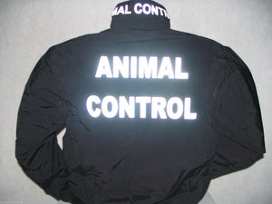 Reflective Animal Control Jacket, Custom Printed Animal Control Jacket, Size, 3X