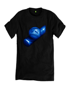 1 Blue Bat with Blue Baseball