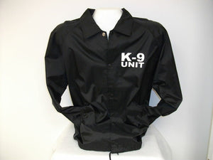K-9 UNIT Raid Style Jacket, K9 Unit, K9 Raid, K-9, Great Call Out Jacket ! Large