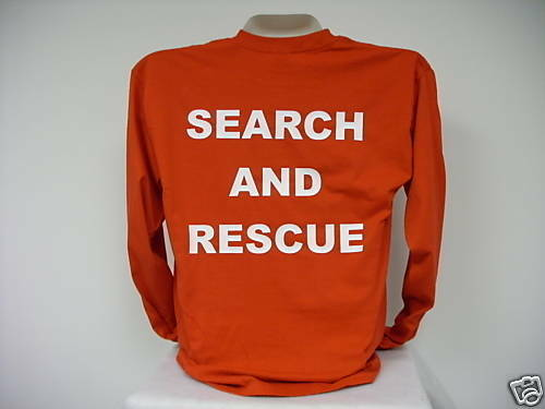 Search And Rescue L/S T-Shirt, SAR L/S T-Shirt,      2X