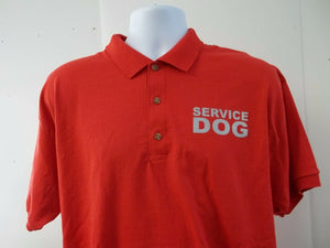 Reflective Service Dog Polo