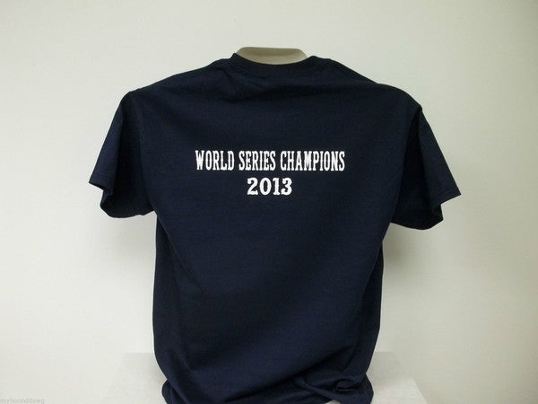 Boston Red Sox Fear The Beard World Series Champions 2013 Long Sleeve T-Shirt Custom Printed