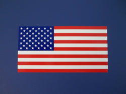 American Flag Self Adhesive Decal