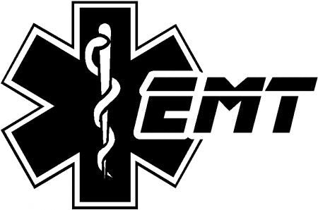Reflective EMT Star of Life Hoodie