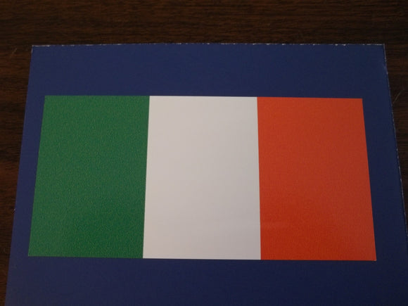 Irish Flag Self Adhesive Decal