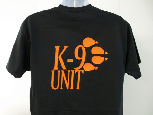 K-9 Unit Paw Side T-Shirt