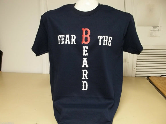 World Series Champions Fear The Beard Boston Red Sox T-Shirt, Choice of Color