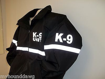 Reflective K-9 Working Dog Jacket with Reflective Striping, Select Your Jacket Color