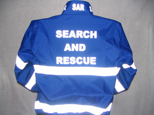 Reflective Search and Rescue SAR Jacket