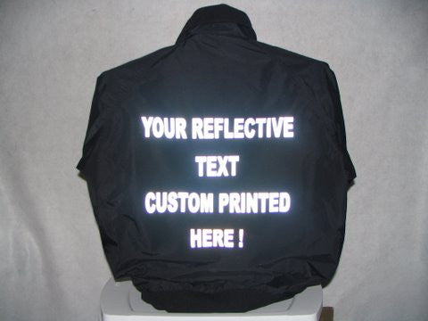 Reflective Design Your Own All Weather Jacket