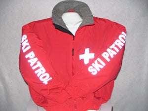 Reflective Custom Printed Ski Patrol Jacket