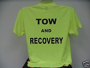 Tow & Recovery Safety Green T-Shirt