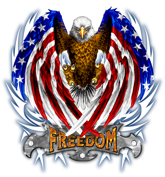 Epic Freedom Eagle T-Shirt, ap80012