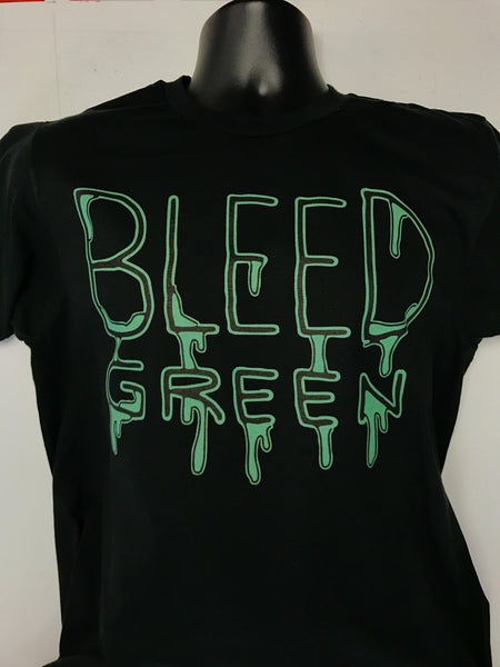 Boston Bleed Green T-Shirt
