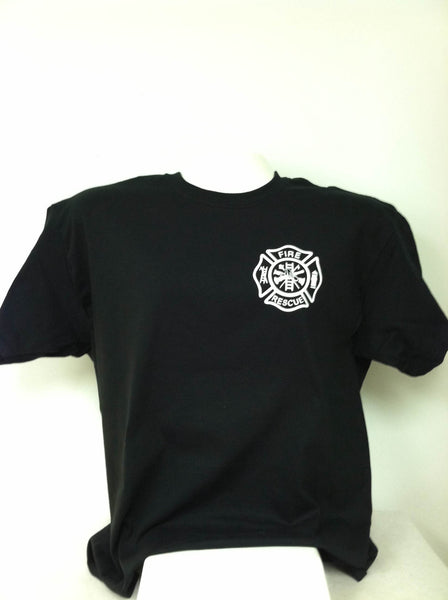Fire Rescue Maltese Cross T-Shirt