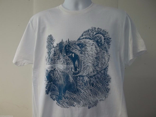 Angry Bear Full Front T-Shirt, WL60004