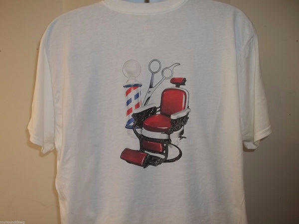 Barber Chair T-Shirt, B-1353