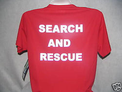 Reflective Search and Rescue Wicking T-Shirt