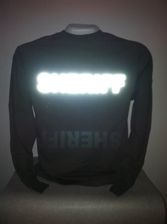Reflective Sheriff Long Sleeve T-Shirt
