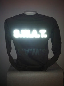 Reflective S.W.A.T. SWAT Long Sleeve T-Shirt