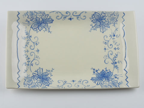 "12"" x 8"" Rectangular Lace Platter 17010"