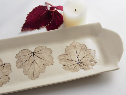 12x5 Three Leaf Platter 4095