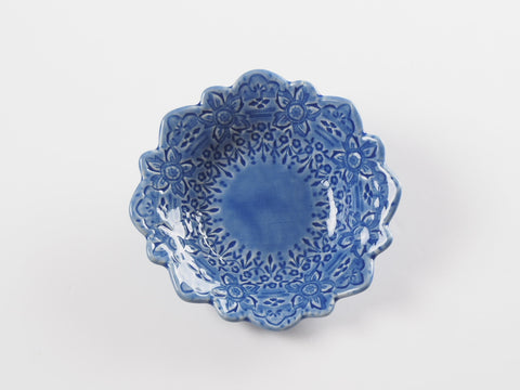 "5"" Laura's Lace Dish 4418"