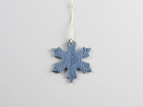 Lace Snowflake Ornament 4462