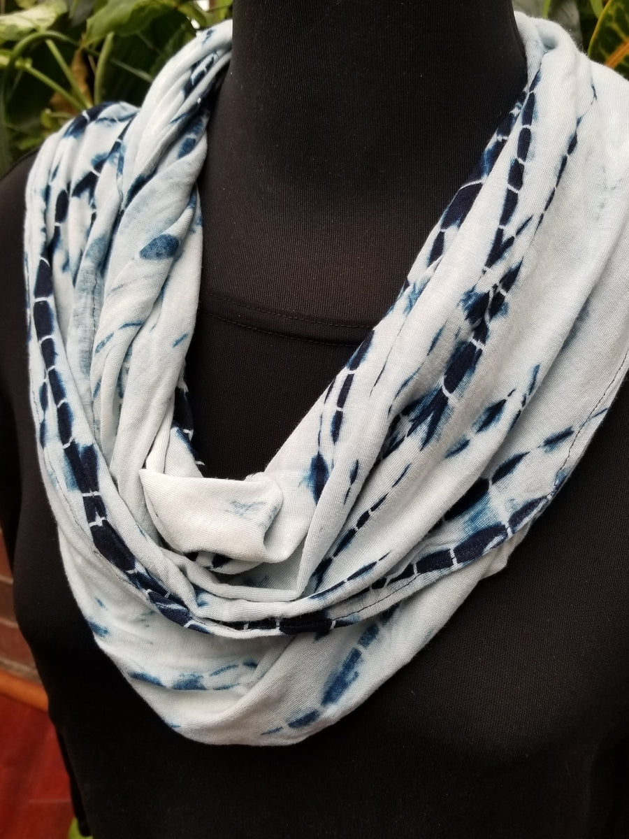 Reflections viscose cotton infinity scarf