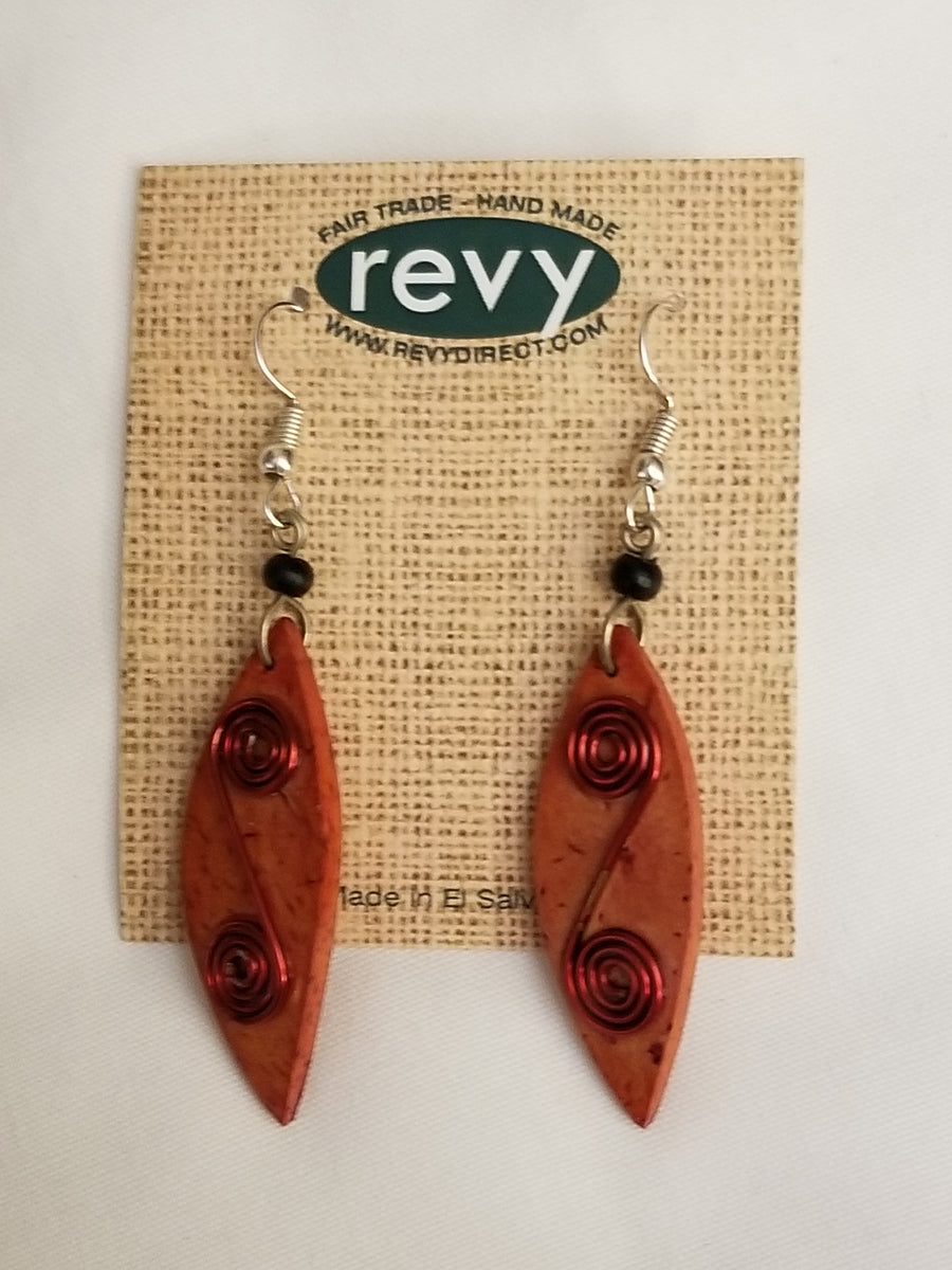 Jaraguá Aztec Coil Earrings