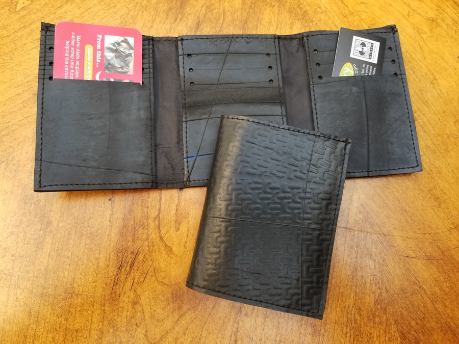 Revved Up Tri-Fold Wallet
