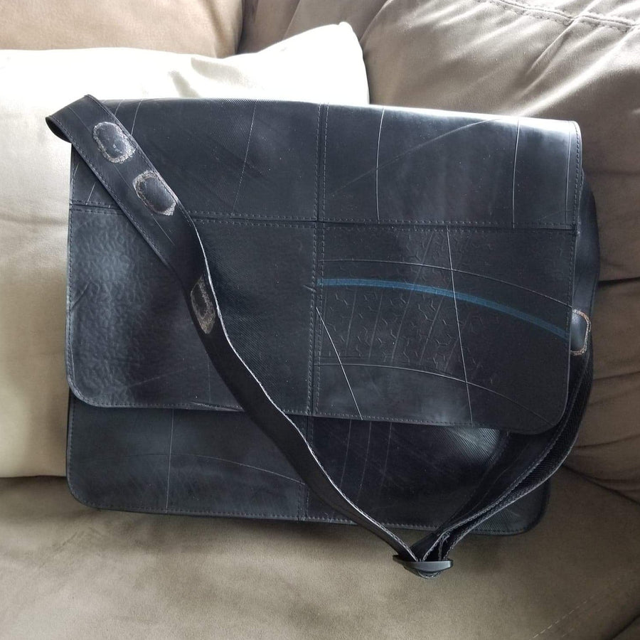 Revved Up Laptop Bag with Rubber Strap