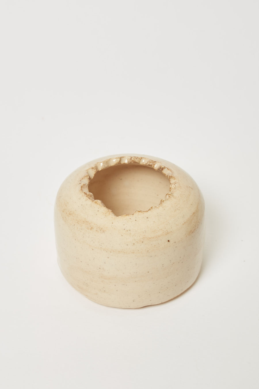 Vase with Textured Opening