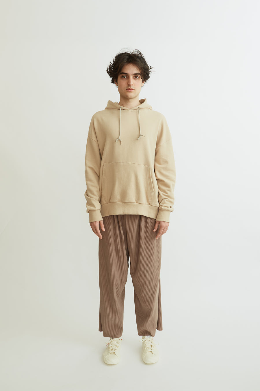 Ribbed Cappuccino Trousers