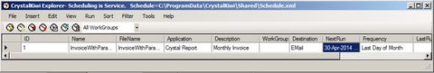 CrystalKiwi Scheduler for Crystal Reports